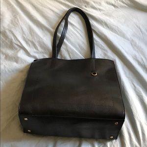 Banana Republic Pebbled Italian Leather Bag